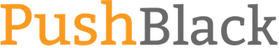 PushBlack logo